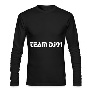 Team DJ 91 Men Long Sleeve T-Shirt  - Men's Long Sleeve T-Shirt by Next Level