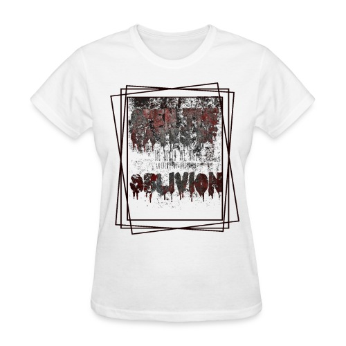TDWR Open The Gates White /Womens - Women's T-Shirt