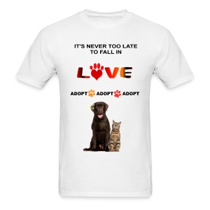 NEVER TOO LATE TO FALL IN LOVE - Men's T-Shirt