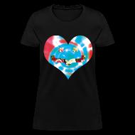 Women's T-Shirts ~ Women's T-Shirt ~ Rosey Tie Dye (Women's)