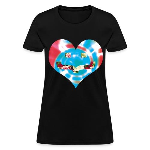 Rosey Tie Dye (Women's) - Women's T-Shirt