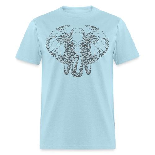 Elephant Grey Shirt Mens - Men's T-Shirt