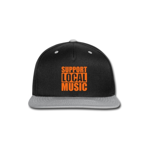 ODR Support Local Music Snap-Back - Snap-back Baseball Cap