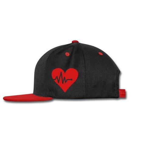 Heart Hat - Snap-back Baseball Cap