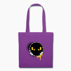 Cartoon character eyes- patch Bags & backpacks