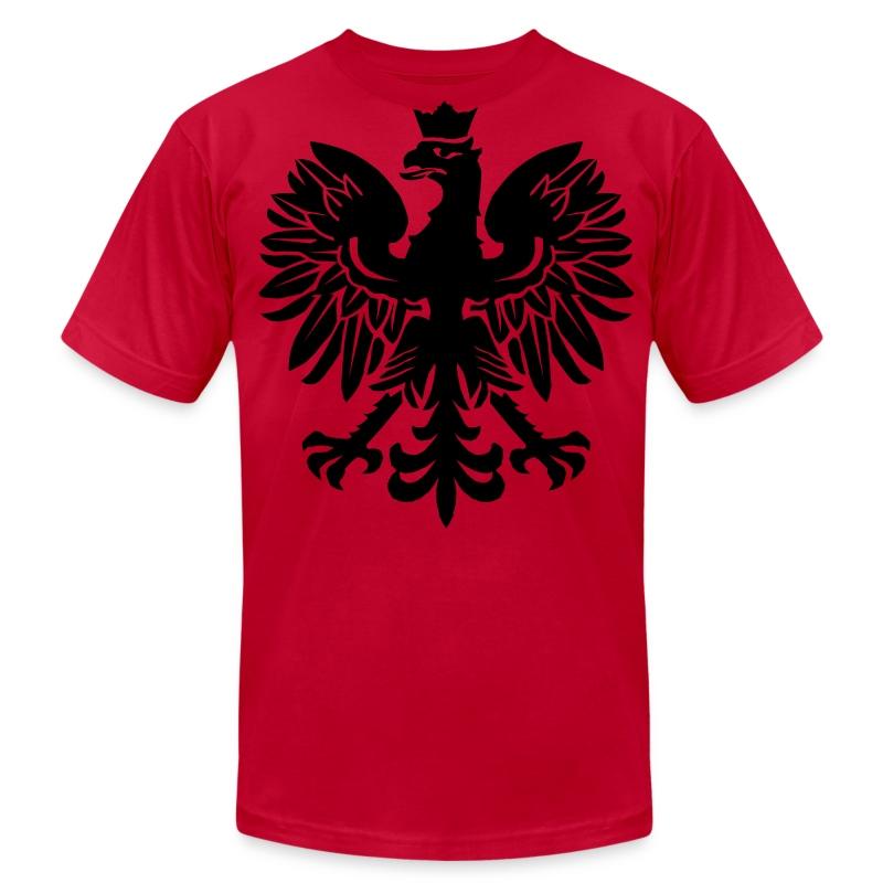 Black polish eagle t shirt spreadshirt for Polish t shirts online
