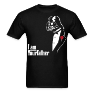 T-Shirts ~ Men's T-Shirt ~ SKYF-01-029 Darth Vader father tuxedo