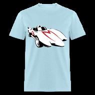 T-Shirts ~ Men's T-Shirt ~ SKYF-01-032 speedracer Mach 5
