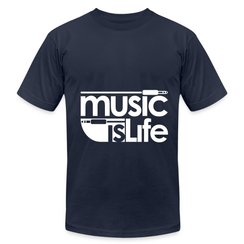 MUSIC - Men's Fine Jersey T-Shirt
