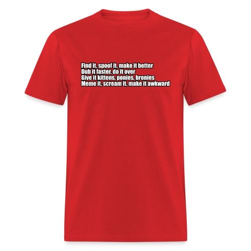 Meme It - Men's T-Shirt