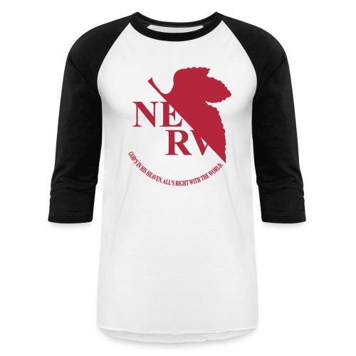 NERV QuarterSleeve - Baseball T-Shirt