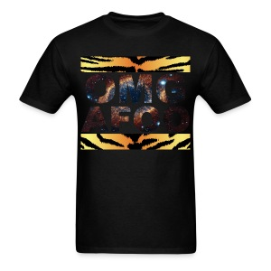 RUN OMG (Galaxy Tiger) - Men's T-Shirt