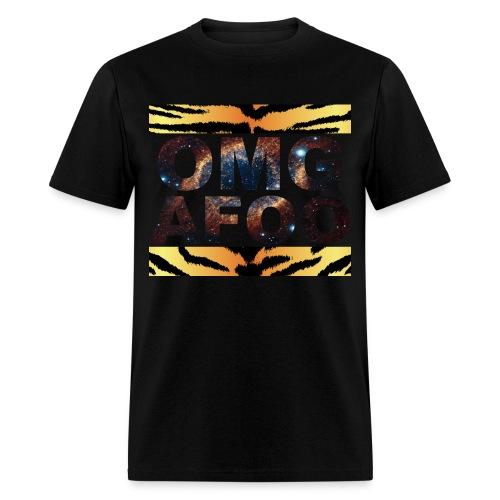 RUN OMG (Galaxy Tiger) - Men's T-Shirt