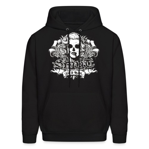 Smut Logo Design Men Pull Over - Men's Hoodie
