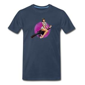 Neutrino Pin-Up - Men's Premium T-Shirt