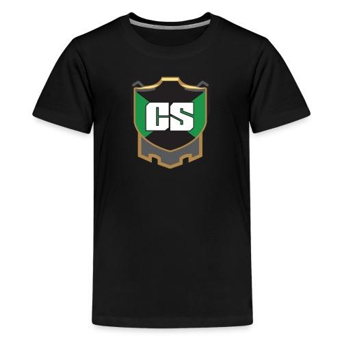 Cold September logo tee - kid's - Kids' Premium T-Shirt