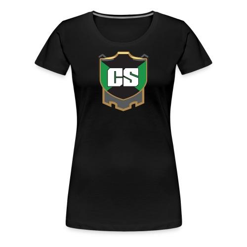 Cold September logo tee - women's - Women's Premium T-Shirt