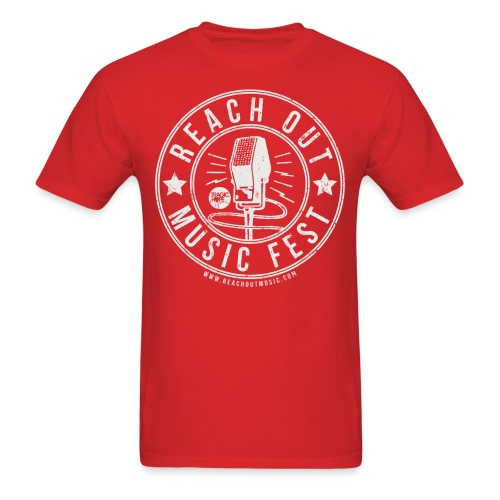 Men's T Red - Men's T-Shirt