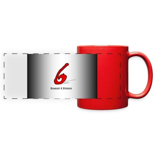 Scarlet 6 Studios Mug - Red - Full Color Panoramic Mug