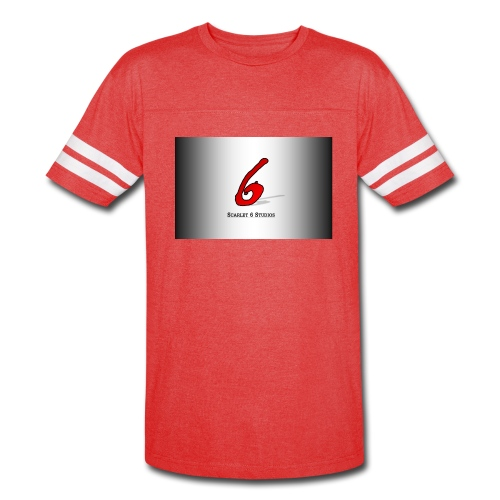 Scarlet 6 Sports Shirt - Red - Vintage Sport T-Shirt