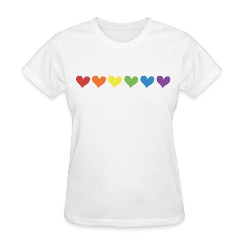 Pride Love - Women's Tee - Women's T-Shirt