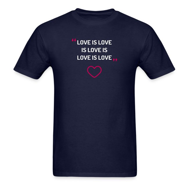 Love is love - Men's tee
