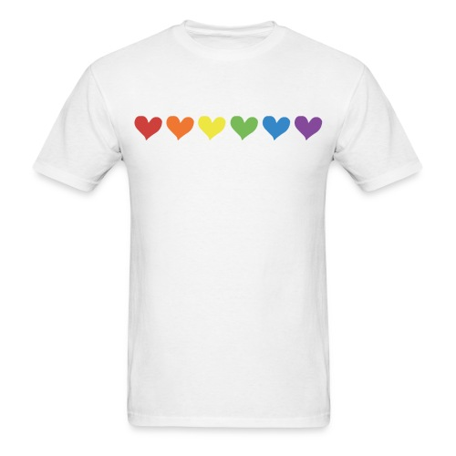 Pride Love - Men's Tee - Men's T-Shirt