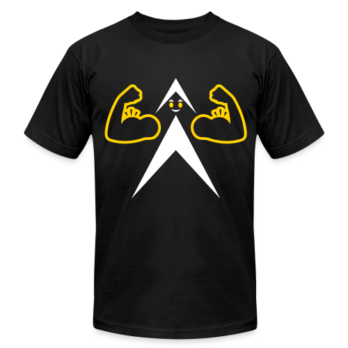 FUNNY BICEPS - Men's T-shirt - Men's Fine Jersey T-Shirt