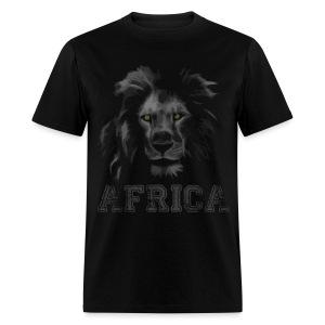 African Lion T-shirt - Men's T-Shirt