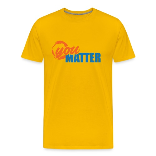 SLCA You Matter Logo Tee - Men's Premium T-Shirt
