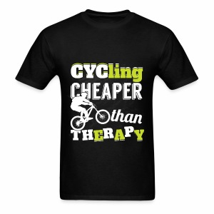 Cycling Therapy - Men's T-Shirt