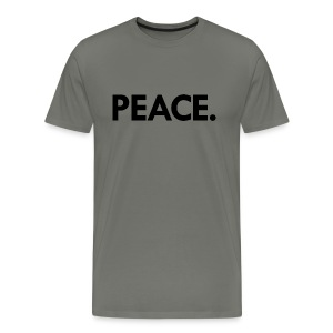 Peace t-shirt | asphalt - Men's Premium T-Shirt