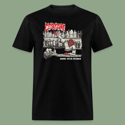 D.T. Seizure - Name Your Poison T-Shirt (men's) - Men's T-Shirt
