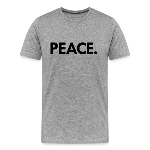 Peace t-shirt | heather grey - Men's Premium T-Shirt