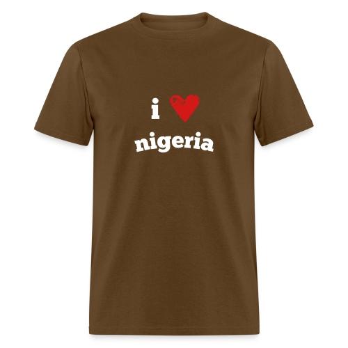 I Love Nigeria - Men's T-Shirt
