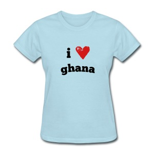 I Love Ghana - Women's T-Shirt