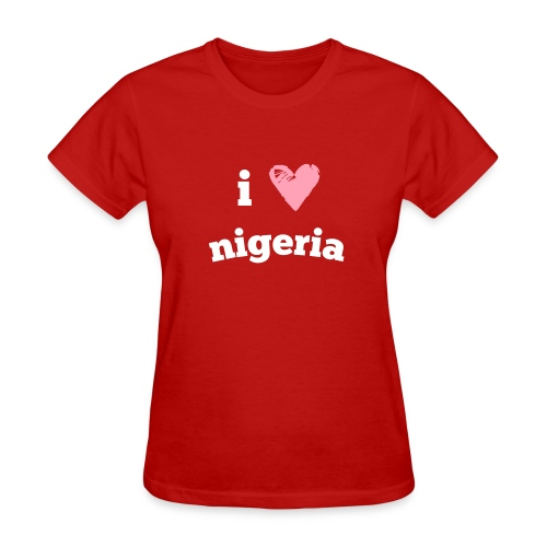 I Love Nigeria - Women's T-Shirt
