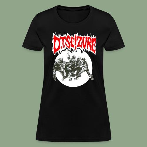 D.T. Seizure - Detox Clinic T-Shirt (women's) - Women's T-Shirt