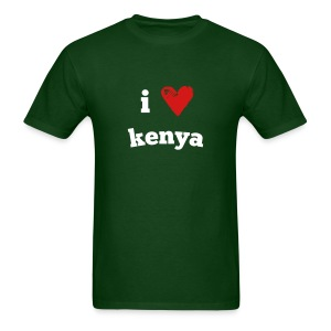 I Love Kenya - Men's T-Shirt