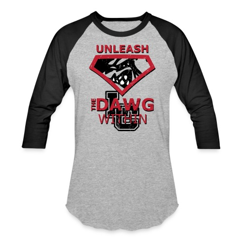 Unleash the Dawg Within - Baseball T-Shirt