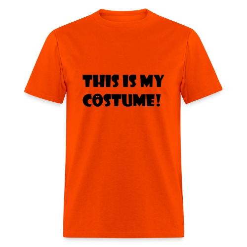 THIS IS MY COSTUME Halloween Men's T-Shirt - Men's T-Shirt