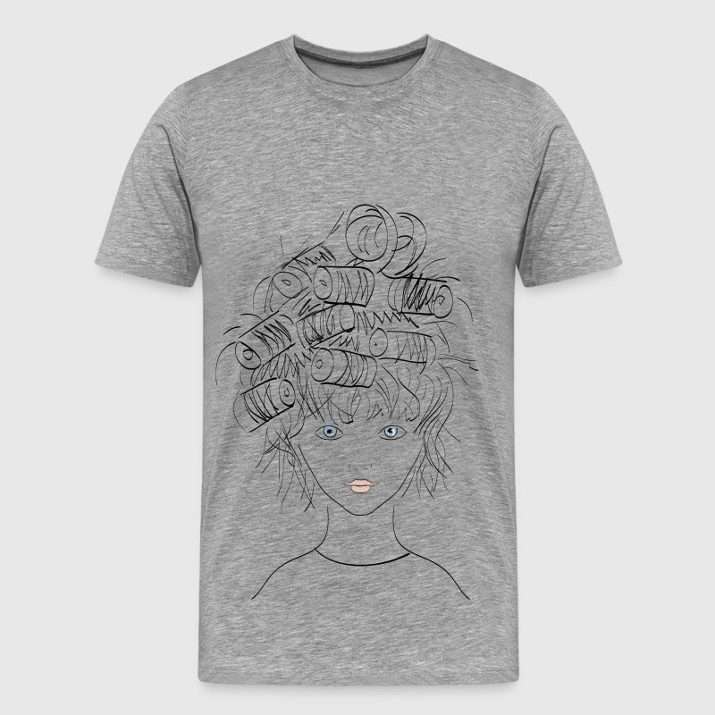 Line Art T Shirt Design : Eyes open female portrait line art t shirt spreadshirt