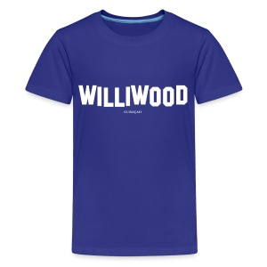 Williwood Design - free color selection - Kids' Premium T-Shirt