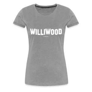 Williwood Design - free color selection - Women's Premium T-Shirt