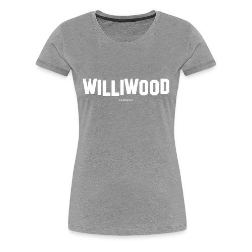 Williwood Design - free color selection - Women's Premium T-Shirt