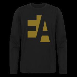 E.A. Men's Long Sleeve T-Shirt (GOLD) - Men's Long Sleeve T-Shirt by Next Level