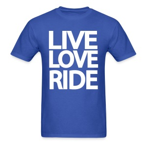 Live Love Ride - Men's T-Shirt