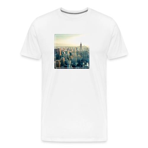 Tidal Wave Skyline Tee - Men's - Men's Premium T-Shirt