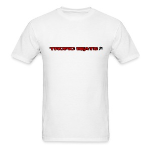 Tropic Beats Red Logo - Men's T-Shirt