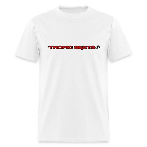 Tropic Beats Red Logo - Men's T-Shirt